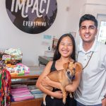 CONSUMPTION COUNTS: Saroj Bhandari, left, and Lanna Nawa founded Impact Everything to help make retail purchases produce a greater social good, such as having the purchase price go toward the cost of planting a tree. 