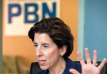 GOV. GINA M. RAIMONDO said Thursday the state has cut the volume of regulations for businesses by almost one-third. / PBN FILE PHOTO/MICHAEL SALERNO