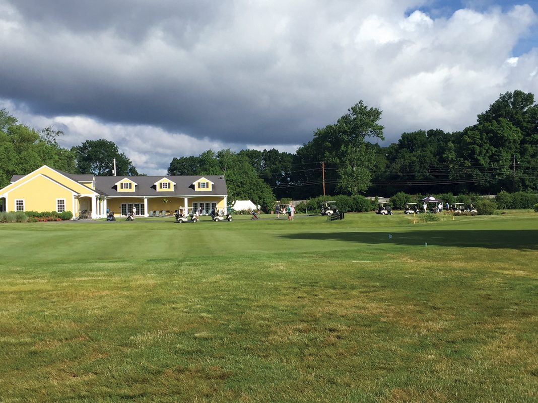 UNIQUE PARTNERSHIP: Agawam Hunt country club in East Providence, pictured, was able to exit Chapter 11 bankruptcy in large measure thanks to a conservation easement purchased by The Nature Conservancy, with the funding provided by $2 million in donations.