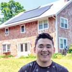 FERTILE GROUND: Kenny Hsieh started his own solar-panel installation company after he realized Rhode Island is fertile ground for solar-energy businesses.