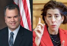 A TEAM EFFORT: House Speaker Nicholas A. Mattiello's plan to keep the Pawtucket Red Sox in Rhode Island ultimately was unsuccessful, but Gov. Gina M. Raimondo could have played a more effective role in the negotiations to keep the team from heading to Worcester, Mass.  / PBN FILE PHOTO/MICHAEL SALERNO; COURTESY R.I. GENERAL ASSEMBLY