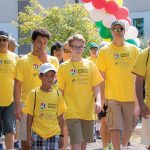 MARCHING AGAINST CANCER: Participants walk during last year's Arnie's March Boston event at TPC Boston in Norton. This year's event, benefiting the Massachusetts General Hospital for Children's Cancer Center, will take place Aug. 25 from 9:30 a.m. to noon. / COURTESY ARNIE'S MARCH BOSTON