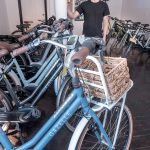 ELECTRIC BIKES: Tyler Justin is the owner of Providence-based Mission Electric, a shop selling and maintaining electric bicycles. E-bikes can be used on the street or bike trails but can be switched into electric mode on uphill climbs.