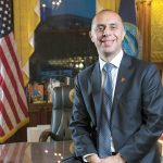 IMMIGRATION RIGHTS has become a hot-button issue in Providence Mayor Jorge O. Elorza's reelection campaign. Elorza is championing a city lawsuit that challenges the federal government's ability to withhold grant money to municipalities that do not follow Trump administration initiatives designed to ferret out undocumented immigrants. / PBN file photo/Rupert Whiteley