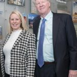 "Jaclyn Leibl-Cote, president of Collette Travel Services Inc., is pictured right standing next to her father, Dan Sullivan Jr., former president and current Collette CEO. On Wednesday, the Pawtucket-based company announced it planned to create ""75-plus"" full-time jobs in the local market over the next ""several years."" / PBN FILE PHOTO/MICHAEL SALERNO"