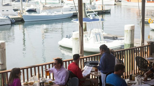 THE MOORING SEAFOOD KITCHEN AND BAR was named as one of the most scenic restaurants in the United States by OpenTable users. / COURTESY OPENTABLE