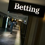 STATE, LOTTERY, local technology vendors reach agreement about sports betting management and announce tentative start date for mid-November. / BLOOMBERG NEWS FILE PHOTO/ JUSTIN CHIN