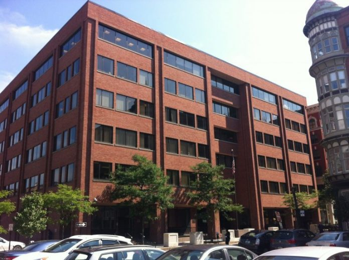 THE FEDERAL BUILDING at 380 Westminster St. in Providence will be sold to a limited liability company controlled by Paolino Properties. / PBN FILE PHOTO MARY MACDONALD