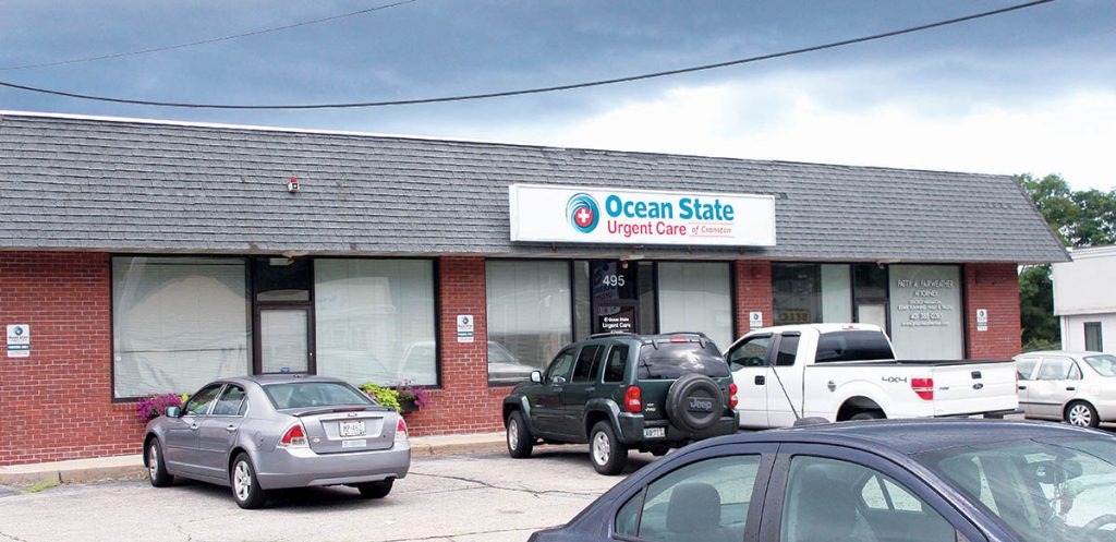 495 Atwood Ave. (1984) OWNER: Carpentier Realty LLCTENANT: Ocean State Urgent Care