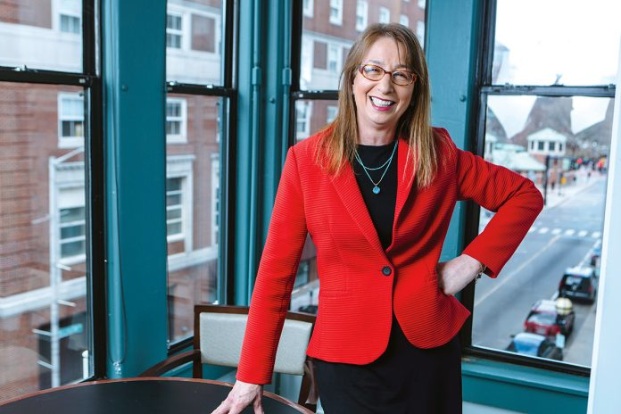 BARBARA FIELDS is the executive director of Rhode Island Housing. oody's Investor Service has upgraded the rating for bond series to be issued by Rhode Island Housing to Aa1. / PBN FILE PHOTO RUPERT WHITELEY