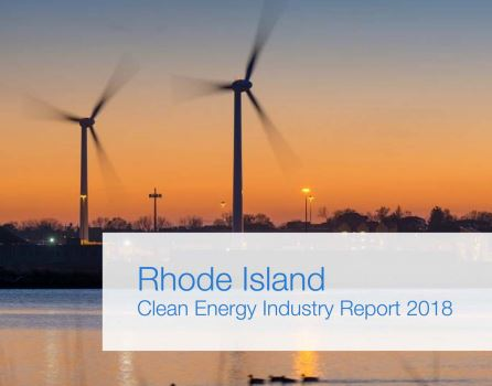 CLEAN ENERGY employment in Rhode Island increased 3.7 percent year over year from 2017 to 2018. / COURTESY OFFICE OF ENERGY RESOURCES