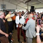 THANKS TO A NEW AGREEMENT between the state and the Newport Festivals Foundation, the Newport Jazz Festival and the Newport Folk Festival are going to be produced at Fort Adams State Park for the next 25 years. In addition, the deal calls for the creation of a museum to the festivals to be built in the park. / COURTESY NEWPORT JAZZ FESTIVAL