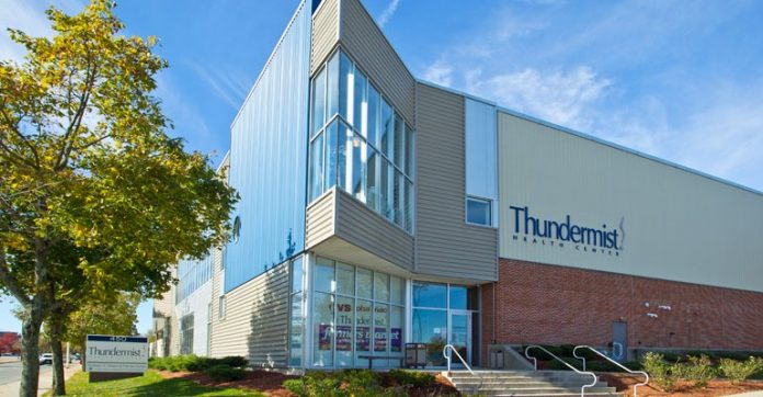 THUNDERMIST HEALTH CENTER was one of eight Rhode Island health centers to receive funds from the U.S. Department of Health and Human Services' Health Center Quality Improvement grants. The HHS awarded a total of $1.1 million to Rhode Island health centers for fiscal 2018. / COURTESY RHODE ISLAND HEALTH AND EDUCATIONAL BUILDING CORP.