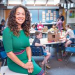 INCLUSIVE APPROACH: Noni Thomas López, head of school at the Gordon School in East Providence, says the school is founded on the idea of inclusivity, which is why it has launched a new individualized tuition payment program for families this year in order to diversify its student population.