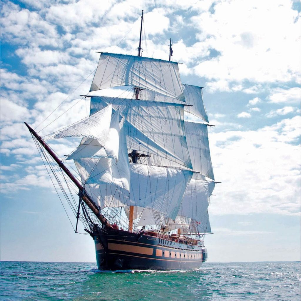 WHAT TO DO? Oliver Hazard Perry Rhode Island, the nonprofit organization supporting the state's official school vessel and tall ship ambassador, SSV Oliver Hazard Perry, announced the ship would be docked for an indefinite amount of time as the group weighs its financial future.  / COURTESY OLIVER HAZARD PERRY RHODE ISLAND/TED NEIGHBORS