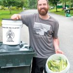BETTER WAY: Brendan Loflin started Rhodeside Revival to make it easy for clients to divert food waste from the state's landfill in Johnston. / PBN PHOTO/DAVID HANSEN