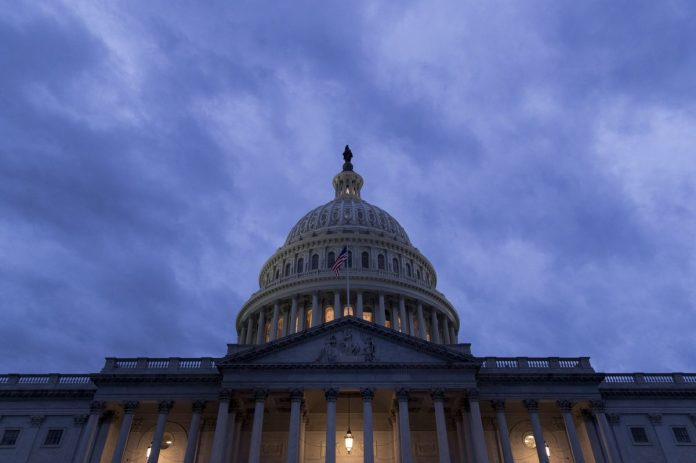 THE UNITED STATES budget deficit increased to $898 billion in the 11 months through August. / BLOOMBERG NEWS FILE PHOTO/ANDREW HARRER