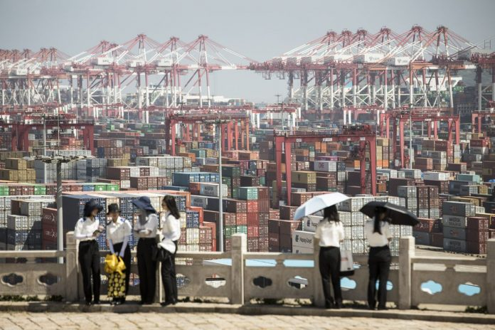CHINA RESPONDED to the most recent round of tariffs from President Donald Trump with retaliatory tariff action against $60 billion of U.S. goods. / BLOOMBERG NEWS FILE PHOTO/OILAI SHEN