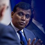 INFOSYS PRESIDENT Ravi Kumar said that the India-based technology giant tentatively plans to open Design & Innovation hub in Providence in early December. / BLOOMBERG NEWS FILE PHOTO/ANDREW HARRER