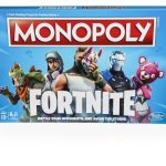 HASBRO HAS PARTNERED with Epic Games to create Fortnite-inspired products, including a Fortnite Monopoly game and Fortnite Nerf blasters. / COURTESY HASBRO