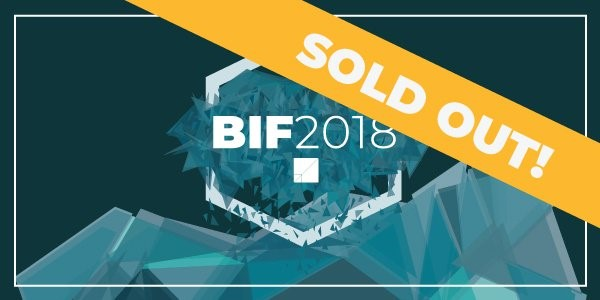THE BUSINESS INNOVATION FACTORY 2018 Summit has sold out.