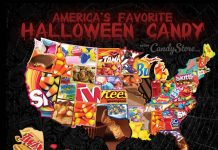 RHODE ISLAND'S favorite Halloween candy was candy corn, according to a new report from CandyStore.com. / COURTESY CANDYSTORE.COM