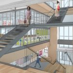 THE PROVIDENCE PUBLIC LIBRARY has received $4.2 million in New Market Tax Credits equity and $1.6 million in C-PACE Investment through the Rhode Island Infrastructure Bank's Rhode Island C-PACE program for its planned $25 million renovation. / COURTESY PROVIDENCE PUBLIC LIBRARY