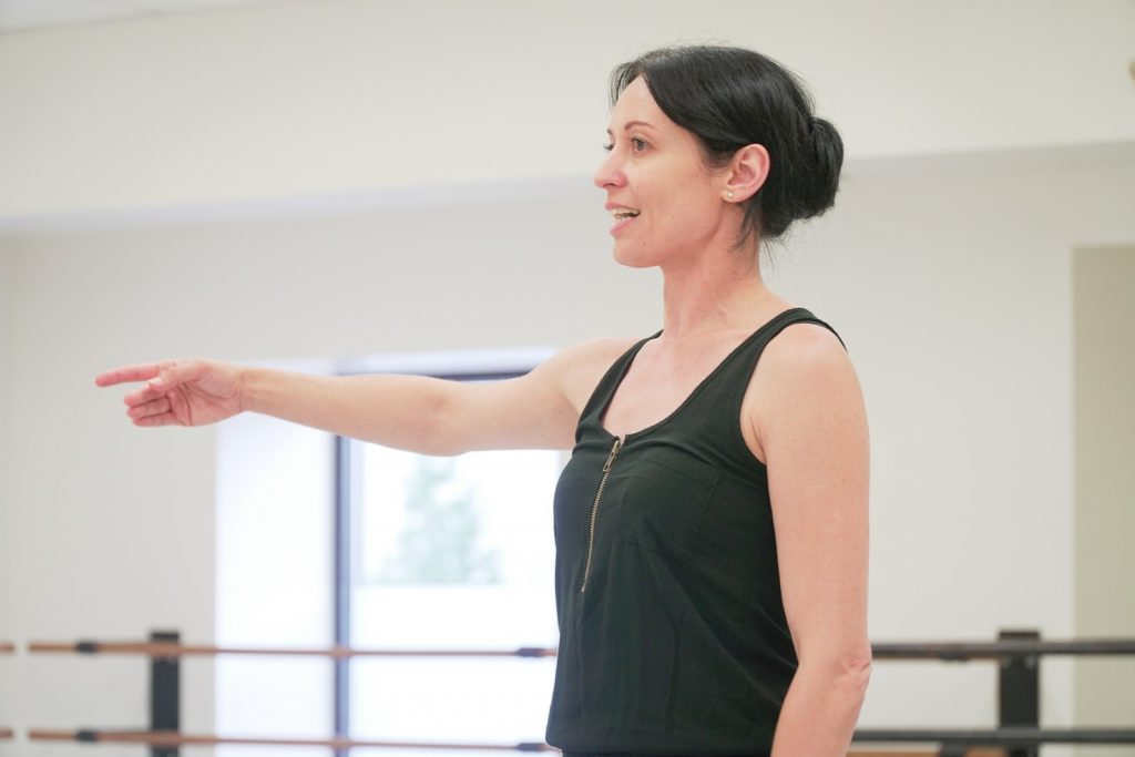 AFTER 11 SEASONS as head dancer at Festival Ballet Providence, Vilia Putrius has been promoted to the school's school director. / COURTESY FESTIVAL BALLET PROVIDENCE