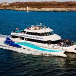 RHODE ISLAND FAST FERRY was granted a one-year extension to fulfill requirements put forth by the R.I. Public Utilities and Carriers in order to operate a seasonal fast ferry from Quonset Point in North Kingstown to Block Island./COURTESY RHODE ISLAND FAST FERRY
