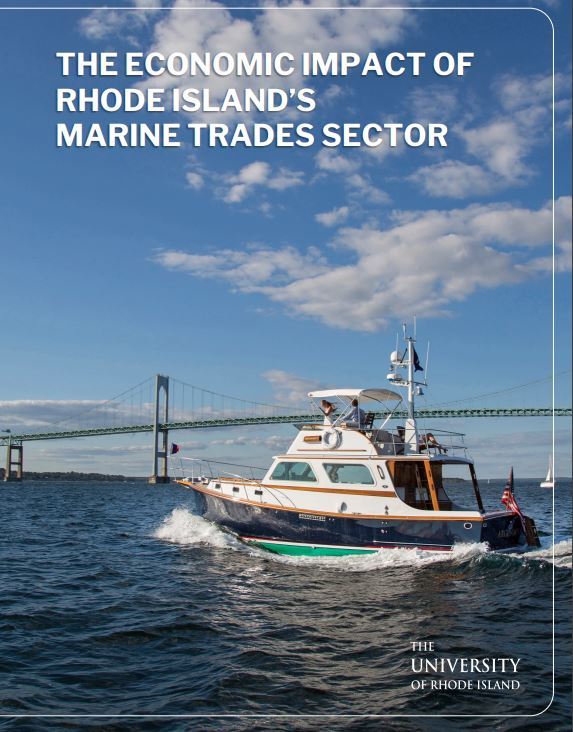 A REPORT conducted by the University of Rhode Island estimated that the marine trades in Rhode Island added $4.6 billion to the Rhode Island economy. / COURTESY RHODE ISLAND MARINE TRADES ASSOCIATION