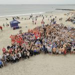 SWIM ACROSS AMERICA raised more than $220,000 for Women & Infants Hospital's Center for Biomarkers and Emerging Technologies in its ninth annual fundraising swim at Roger Wheeler State Beach. / COURTESY CARE NEW ENGLAND