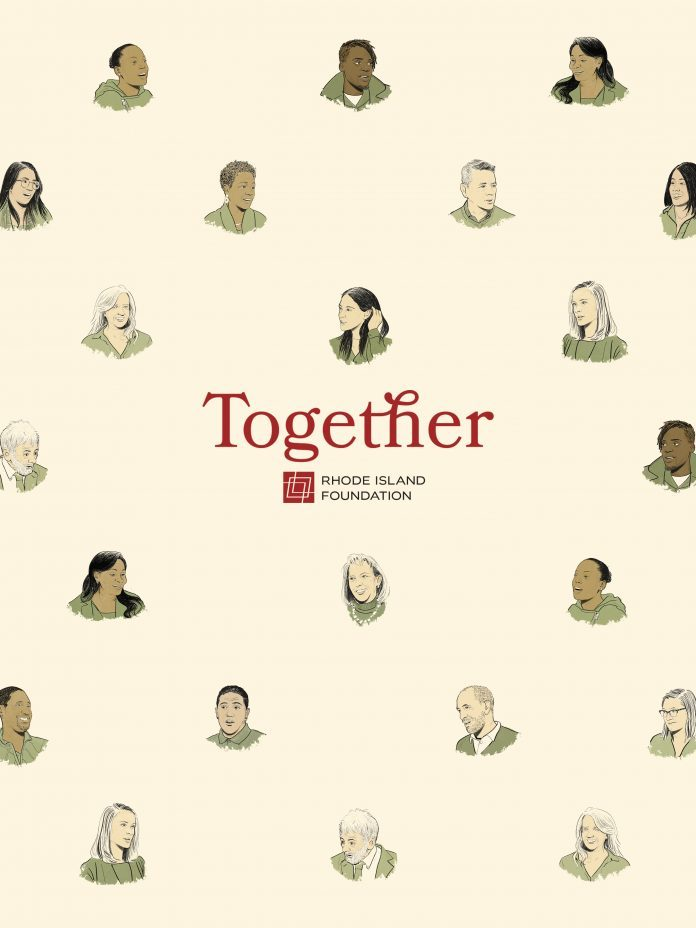 RESULTS OF THE $150,000 TogetherRI community engagement effort hosted by the Rhode Island Foundation between March and May were publicized Thursday in a 100-plus page report compiled by the University of Rhode Island. / COURTESY RHODE ISLAND FOUNDATION