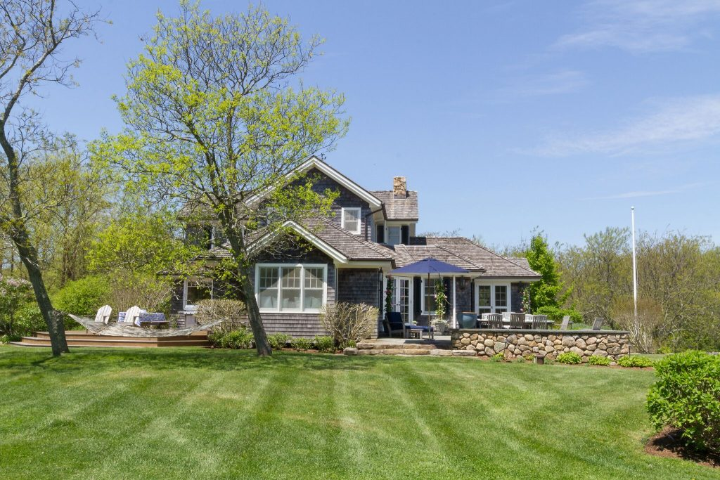 A BLOCK ISLAND HOME at 1528 Center Road has sold for $3.5 million. it has five bedrooms and five and one-half baths. / COURTESY LILA DELMAN REAL ESTATE