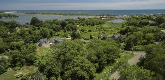 THE UNDEVELOPED property at 24 Meadow Ave., Westerly, was sold for $1.75 million. / COURTESY RANDALL, REALOTS