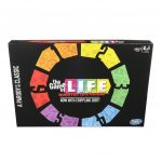 "HASBRO will release an adult party game parody version of five of its classic board games through Target, such as ""The Game of Life: Quarter Life Crisis Parody Edition."" / COURTESY HASBRO"