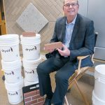 DRYVIT SYSTEMS PRESIDENT AND CEO Mike Murphy said that the demand for the company's NewBrick product led to the company to open a new manufacturing facility in North Kingstown. The company expects to more than double its manufacturing workforce over the next decade. / / PBN FILE PHOTO/MICHAEL SALERNO