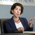 GOV. GINA M. RAIMONDO secured the endorsement of the Rhode Island AFL-CIO for the November gubernatorial election./ PBN FILE PHOTO/MICHAEL SALERNO