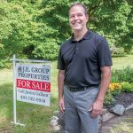 NO SURPRISES: Justin Gallant is the owner of J.E. Group Properties in South Kingstown, a real estate company that is selling homes by a flat fee, rather than commission. / PBN PHOTO/MICHAEL SALERNO