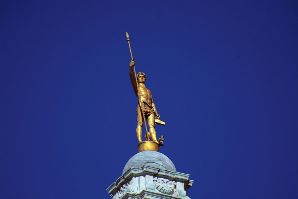 BREAKING AWAY: In an age of highly partisan national politics, many states, including Rhode Island, are seeing a majority of registered voters break away from the two-party system, choosing to be independents rather than register as Democrat or Republican. The Independent Man statue atop the Statehouse in Providence was never a more-appropriate representation of the Ocean State's electorate, where independents outnumber Democrats and Republicans.