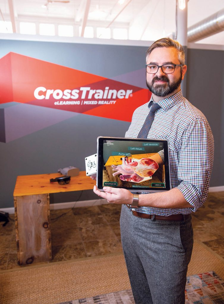 Brian Boyle has been in training design and development for nearly two decades, but a recent experience in a small-business growth program kicked his project into another gear, with the expectation that it will grow its client base 40 percent in the last quarter of 2018. / PBN PHOTO/DAVE HANSEN