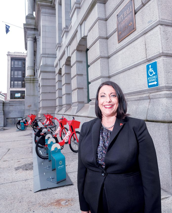 NEW HIRE: Jody Jencks was recently hired as director of PVD HeatlhWorks, a training program for residents interested in jobs in the health care and social-assistance field. / PBN PHOTO/MICHAEL SALERNO