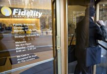 FIDELITY INVESTMENTS has launched a new business to manage digital assets for hedge funds, family offices and trading firms. / BLOOMBERG NEWS FILE PHOTO/JB REED