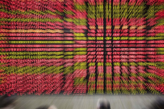 THE S&P 500 Index fell more than 2 percent Thursday. / BLOOMBERG NEWS FILE PHOTO/QILAI SHEN