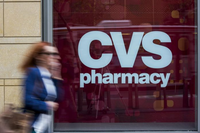 NEW YORK STATE officials are considering blocking parts of the $68 billion merger of drugstore store chain CVS Health Corp. and Aetna Inc. / BLOOMBERG NEWS FILE PHOTO/DAVID PAUL MORRIS