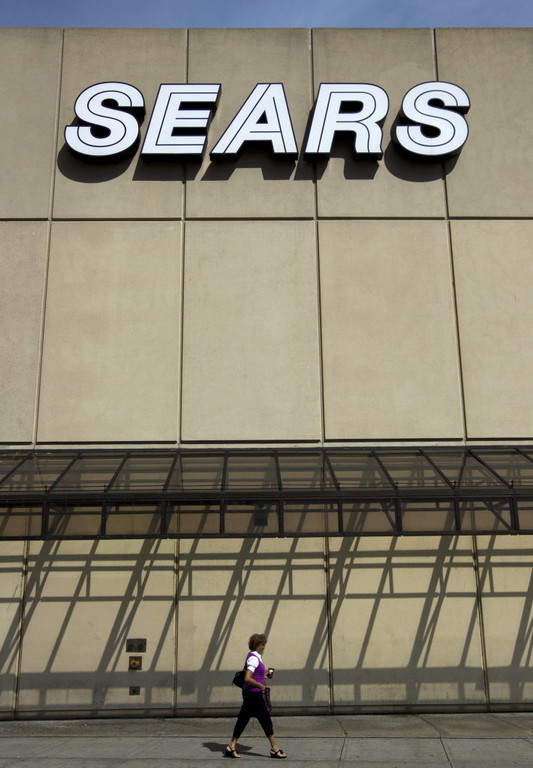 SEARS HOLDING CORP. was said to be negotiating a deal that would keep some stores open through Christmas. / BLOOMBERG NEWS FILE PHOTO/BRENT LEWIN