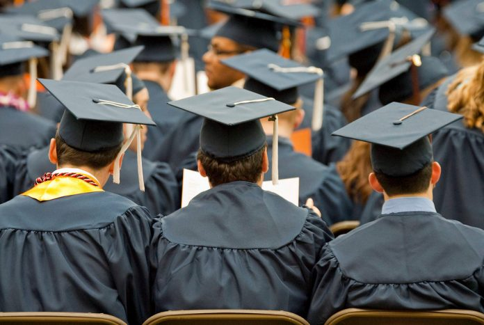 STUDENT LOANS are being issued at unprecedented rates as more American students pursue higher education. Meanwhile, the cost of tuition at both private and public institutions is touching all-time highs and interest rates on student loans are rising. / BLOOMBERG NEWS FILE PHOTO/MICHAEL OKONIEWSKI