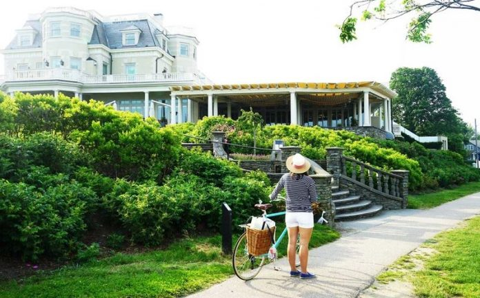 THE CHANLER AT CLIFF WALK was the highest-ranked hotel among New England hotels in the 2018 Readers' Choice Awards published by Condé Naste Traveler. / COURTESY CHANLER AT CLIFF WALK