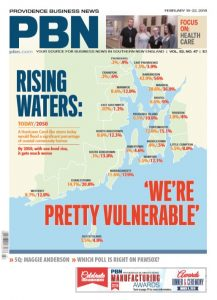 "PBN WAS NAMED Newspaper of the Year for the third time in the last six years by the New England Newspaper and Press Association on Thursday. It was also recognized with a Publick Occurrences Award for its three-part series titled ""Rising Waters."""
