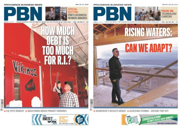 PBN WAS NAMED Newspaper of the Year for the third time in the last six years by the New England Newspaper and Press Association on Thursday. It was also recognized with a Publick Occurrences Award for its three-part series titled