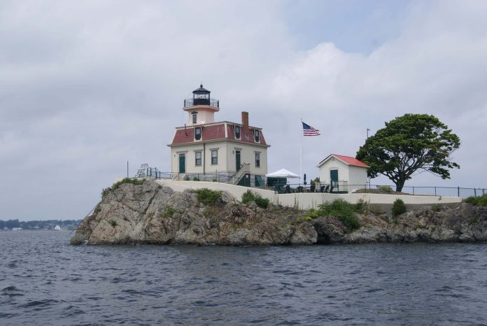 THE FRIENDS OF POMHAM Rocks Lighthouse were among 10 recipients of the Rhody Awards for Historic Preservation. / COURTESY PRESERVE RHODE ISLAND